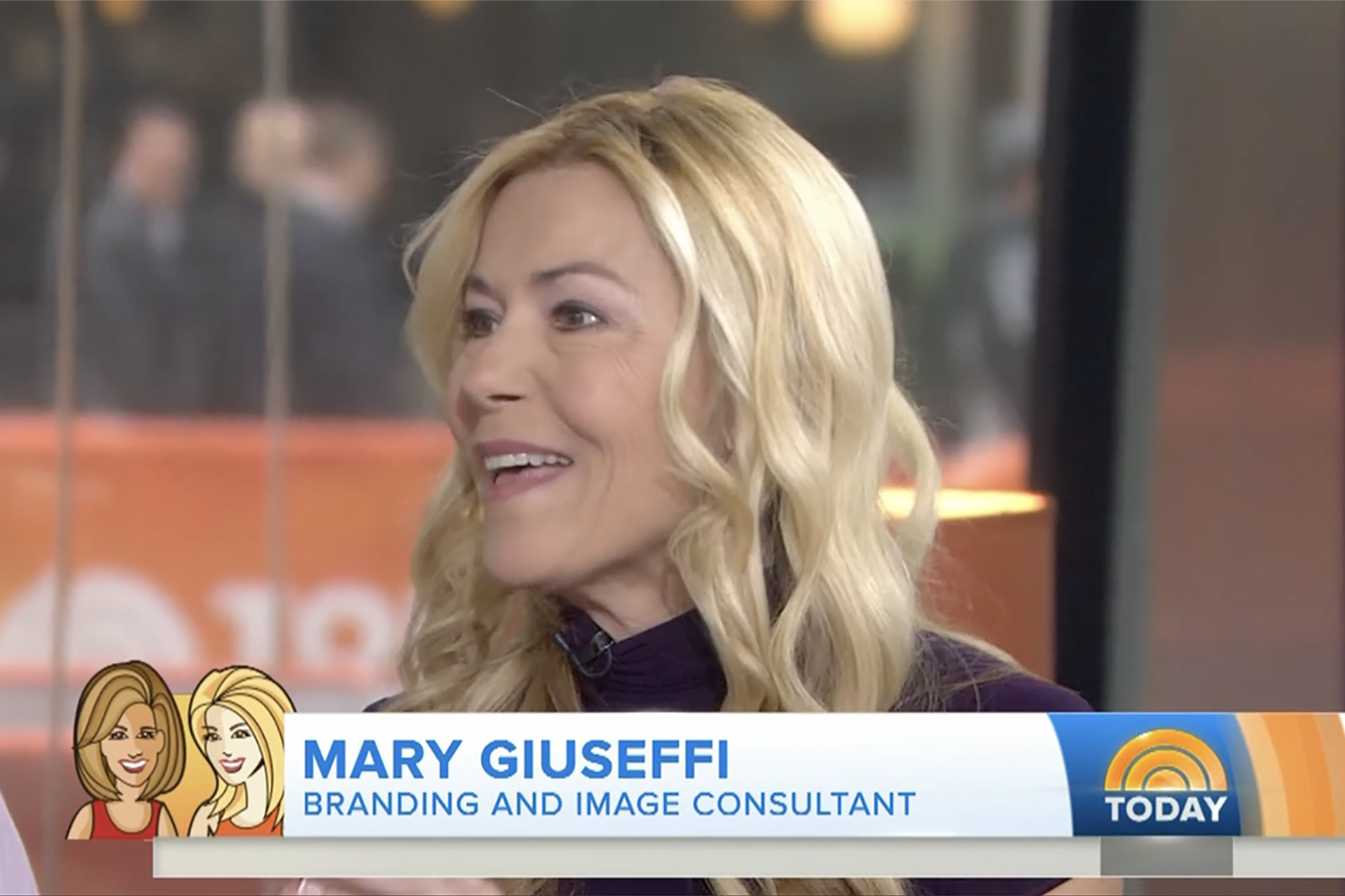 Mary Giuseffi on The Today Show